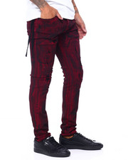 Holiday Shop - Burgundy Rinse Jean-2410256