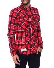 Heritage America - PLAID BUTTONDOWN SHIRT-2409755