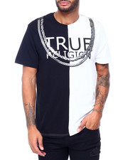 True Religion - SS SPLIT FASHION TEE-2410605
