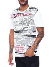 True Religion - SS Foil CREW NECK TEE-2410611