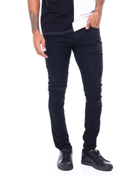 SMOKE RISE - Rip and Repair Twill articulated Knee Pant