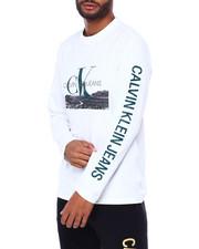 Calvin Klein - L/S LANDSCAPE PRINT TEE-2410428
