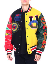 SMOKE RISE - VARSITY COLORBLOCK JACKET-2409461