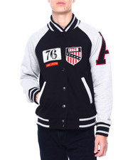 Heritage America - FLEECE VARSITY JACKET-2411239