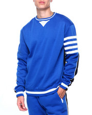 Athleisure for Men - Colorblock Fleece w Bar Stripe Detail-2410502