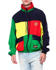 SMOKE RISE - COLORBLOCK FULL ZIP JACKET-2410274