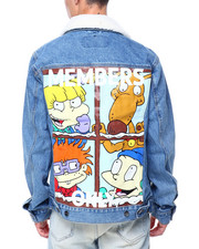 Members Only - RUGRATS SHERPA DENIM JACKET-2411201