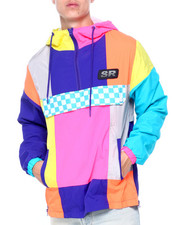 SMOKE RISE - COLORBLOCK WINDBREAKER-2408782