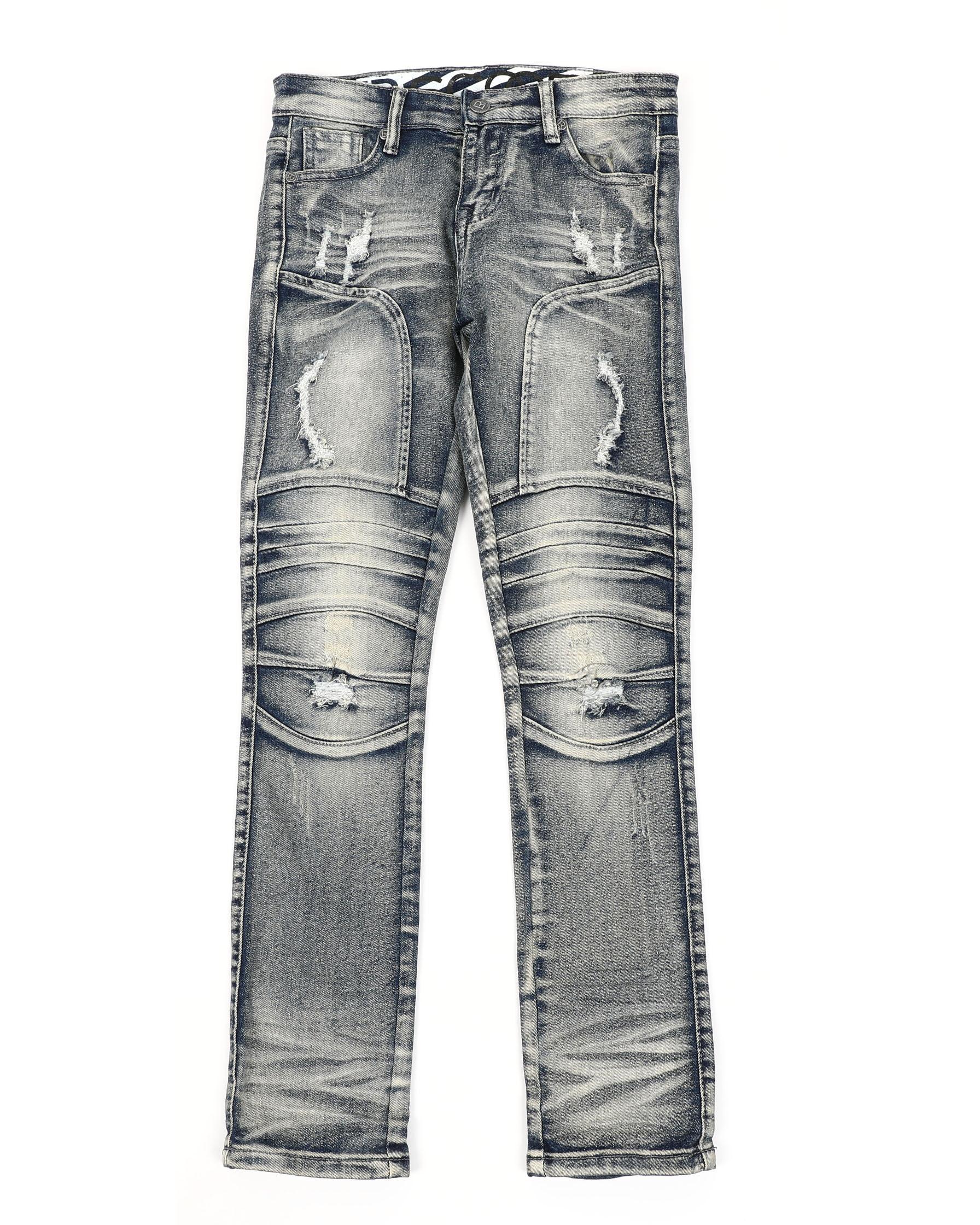NWT Boy/'s LR Scoop Washed Black Stretch Denim Classic Skinny Jeans ALL SIZES