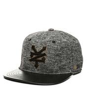 Hats - Marled Jersey Snapback Hat-2408987