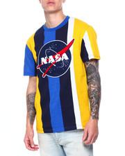 Shirts - Nasa Chenille Patch Stripe Tee-2411267
