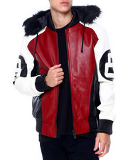 Outerwear - 8 BALL HOODED JACKET-2411061