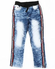 Arcade Styles - Pull On Rib Jeans W/ Taping Detail (4-7)-2410748