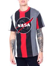 Shirts - Nasa Chenille Patch Stripe Tee-2411272