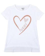 Tops - Glitter Heart DKNY Top (7-16)-2410796