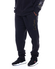 Jeans & Pants - Fleece Jogger w/ Camo Chenille Patch (B&T)-2411539