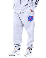 Men - Fleece Pants w/ EMB Patch (B&T)-2411549