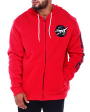 Buyers Picks - Full Zip Fleece Hoodie w/ EMB Patch (B&T)-2411574