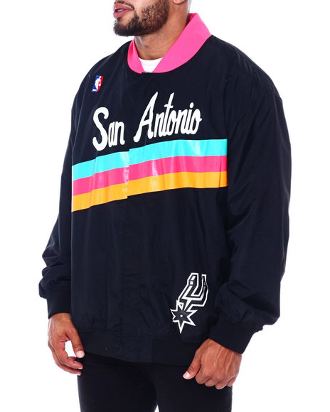 Mitchell & Ness - Spurs Authentic Warm Up Jacket (B&T)