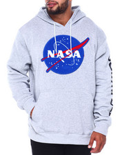 Hoodies - Pullover Fleece Hoodie w/ Chenille Patch (B&T)-2411555