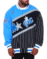 Mitchell & Ness - Magic Authentic Warm Up Jacket (B&T)-2411018