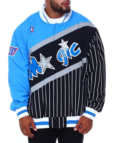 Mitchell & Ness - Magic Authentic Warm Up Jacket (B&T)
