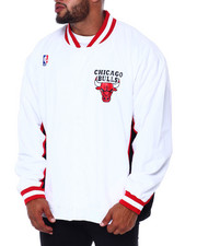 Mitchell & Ness - Bulls Authentic Warm Up Jacket (B&T)-2411023