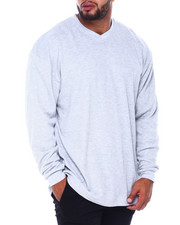 Men - Men's L/S V-Neck Thermals (B&T)-2411380
