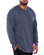 Men - Men's L/S V-Neck Thermals (B&T)-2411375