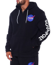 Buyers Picks - Full Zip Fleece Hoodie w/ EMB Patch (B&T)-2410906