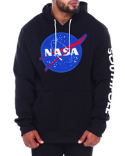 Hoodies - Pullover Fleece Hoodie w/ Chenille Patch (B&T)-2411534
