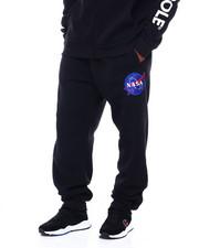 Men - Fleece Pants w/ EMB Patch (B&T)-2411544