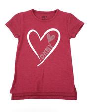 Tops - Glitter Heart DKNY Top (7-16)-2410806