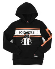 Black Friday Deals - Southpole x Tootsie Pullover Fleece Hoodie W/ Silicone Gel Detail (8-20)-2410938