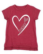 Tops - Glitter Heart DKNY Top (4-6X)-2410811