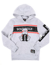 Black Friday Deals - Southpole x Tootsie Pullover Fleece Hoodie W/ Silicone Gel Detail (8-20)-2410870