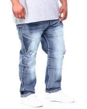 Big & Tall - Moto Denim Jeans (B&T)-2405005