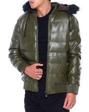 Buyers Picks - PU Puffer Jacket w Hood by Robert Phillipe-2412610
