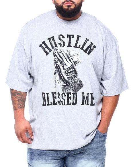 Buyers Picks - Hustle Blessed Me S/S Tee (B&T)