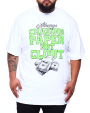 Short-Sleeve - Chasing Paper Not Clout S/S Tee (B&T)-2409086
