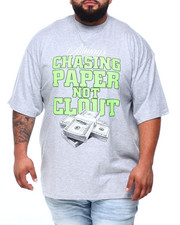 Short-Sleeve - Chasing Paper Not Clout S/S Tee (B&T)-2409090