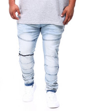 Big & Tall Faves - Moto Denim Jean (B&T)-2405011