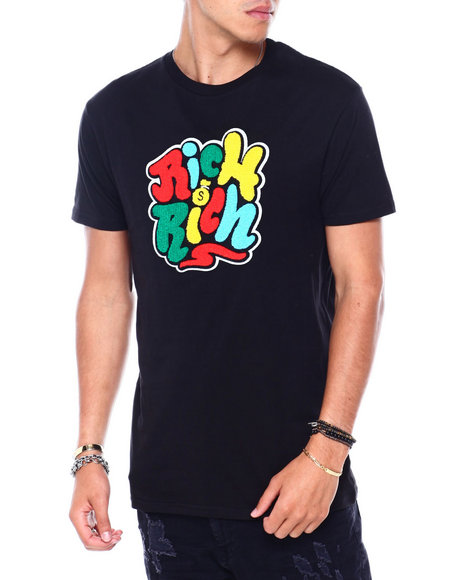 OUTRANK - Rich Rich Center Patch Tee