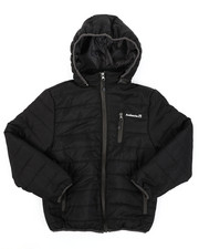 Light Jackets - Ultra Light Poly Filled Puffer Jacket W/ Detachable Hood (8-18)-2411341