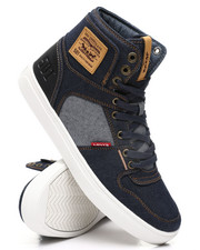 Footwear - Mason HI 501 Denim Sneakers-2412753