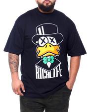 Big & Tall - Rich Life S/S Tee (B&T)-2409135