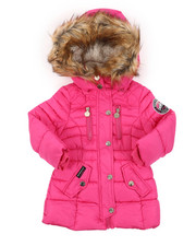 Sizes 2T-4T - Toddler - Parka Puffer Jacket (2T-4T)-2409436