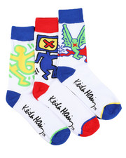 Keith Haring - 3 Pack Icons Crew Socks-2412858