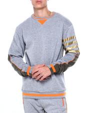 Sweatshirts & Sweaters - Colorblock Fleece w Bar Stripe Detail-2412488