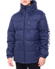 Members Only - QUILTED HOODED PUFFER JACKET W SLEEVE HIT-2413013
